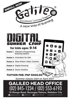 a. Galileo DSC - Flyer 1